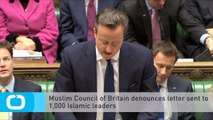 Muslim Council of Britain Denounces Letter Sent to 1,000 Islamic Leaders