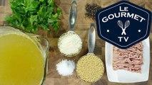 Zuppa di Polpette Piccoli (Mini Meatball Soup) - Le Gourmet TV