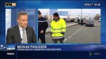 BFM Story: Les routiers maintiennent la pression à la veille des négociations salariales - 19/01