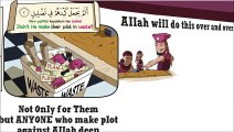 Didn t He make their Plot in Waste    Surah Al Feel illustrated