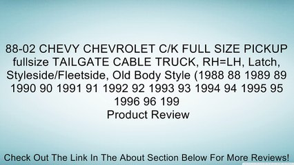 Chevrolet C/K Resource | Learn About, Share and Discuss