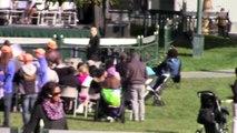Martin Luther King day in San Francisco - Yerba Buena Garden -1-19-2015