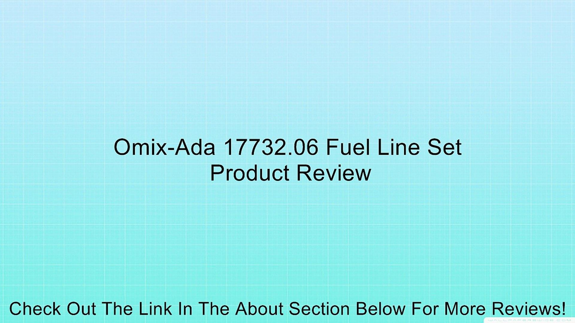 Omix-Ada 17732.06 Fuel Line Set