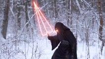 Qui a le plus gros sabre laser?! Parodie Star Wars