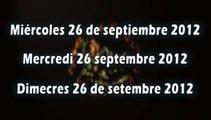 Journal télévisé des Rencontres Education Pyrénées Vivantes du 26/09/2012