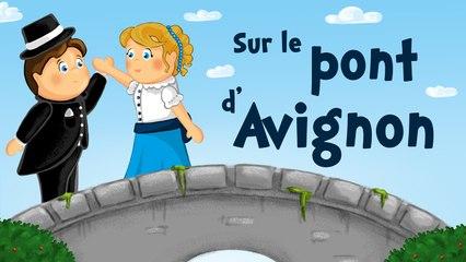 Sur le pont d'Avignon (comptine avec paroles)