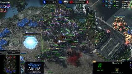 Nerchio (Z) vs. Gungfubanda (P) - MyStarCraft Arena #4 powered by Dailymotion StarCraft II Heart of the Swarm