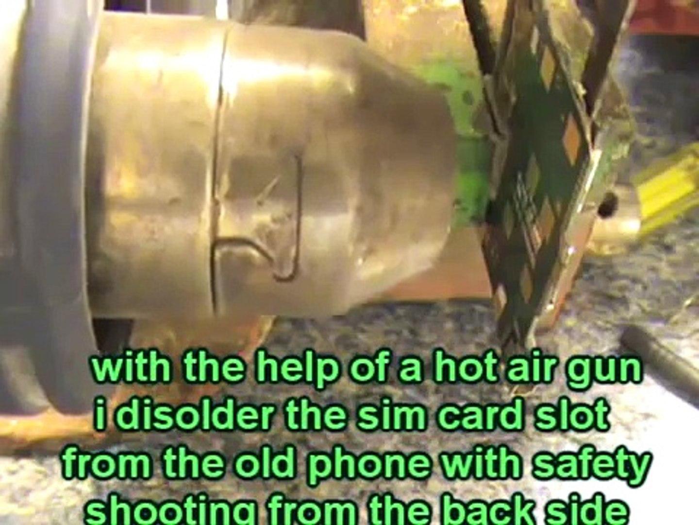 xperia sim card reader slot repair