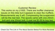 Vortex SP402S  Silver 10mm Swingarm Spool Review