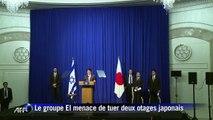 """Otages japonais: le Premier ministre Shinzo Abe exige leur libération """"immédiate"""""""