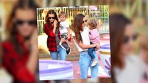 Lily Aldridge And Alessandra Ambrosio Are Model Mums At Disneyland