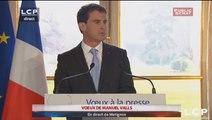 Évènements : Vœux à la presse de Manuel Valls, Premier ministre.