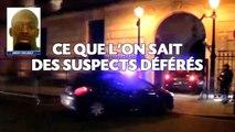 Attentats à Paris: Ce que l'on sait des suspects déférés