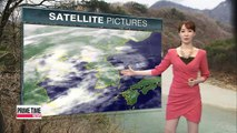 Snow or showers expected nationwide on Wednesday