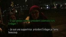 Reportage parmi les Anti PEGIDA : Antifas, Verts, islamistes turcs, bobos.