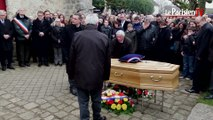 Charlie Hebdo: émotion aux obsèques de Frédéric Boisseau