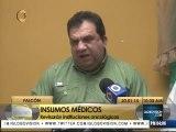 Regularizan dotación de insumos médicos en hospitales de Falcón