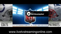 Watch™ Indianapolis colts &vs& new england patriots NFL games live streaming TV
