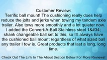 Convert-A-Ball AM-S-C-2 10-1/4X3/4X2 Cushioned Ball Mount Review