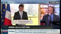 """Le parti pris d'Hervé Gattegno : Apartheid territorial en France:""""Manuel Valls a tout faux"""" - 21/01"""