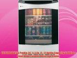 GE PCR06BATSS Profile 24 5.3 Cu. Ft. 12 Bottle Capacity Stainless Steel Undercounter Beverage