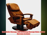 HT-135 Human Touch Leather Massage Chair Recliner - Robotic Human Touch Robotic Lounger with
