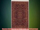 Karastan Original Red Sarouk 8-Feet 8-Inch x 10-Feet 6-Inch