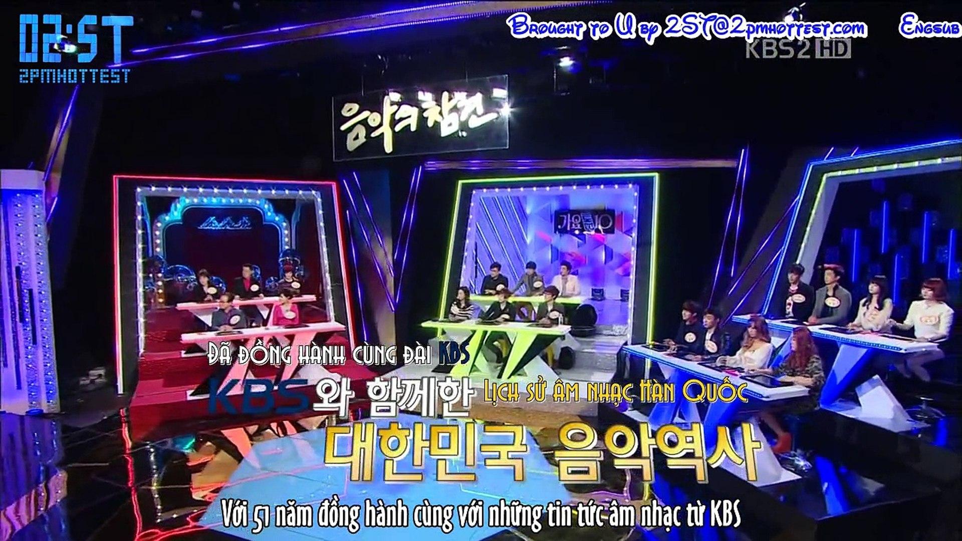 [Vietsub - 2ST] [041212] K B S2 Khuấy đảo nền âm nhạc - JK & WY
