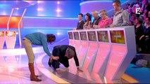 Nagui à quatre pattes sur France 2 : le moment gênant