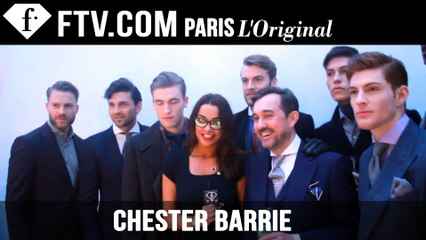 Chester Barrie Menswear Fall/Winter 2015-16 Presentation | London Collections: Men | FashionTV