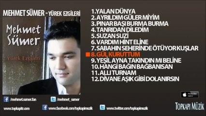 Mehmet Sümer - Gül Kuruttum -yazılı video