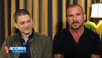 Wentworth Miller Dominic Purcell On Working Together On The Flash