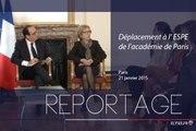 [REPORTAGE] Déplacement à l'ESPE de l'Académie de Paris