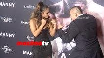 Christina Milian VS Chuck Liddell | MANNY Los Angeles Premiere Screening | Red Carpet