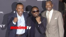 Sugar Ray Leonard & Johnny Gill | MANNY Los Angeles Premiere Screening | Red Carpet