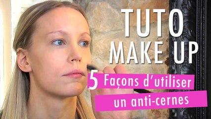 5 façons d'utiliser un anti-cernes - Tuto Make Up
