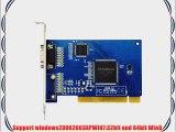 Jooan 8 Ch D1 HD Video Capture Card/PCI DVR Card/Mobile Phone Network Remote Surveillance/PC