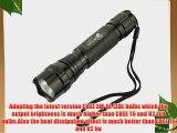 UltraFire WF501B 1600 Lumens CREE XM-L 2 LED 5 Modes LED Flashlight Torch