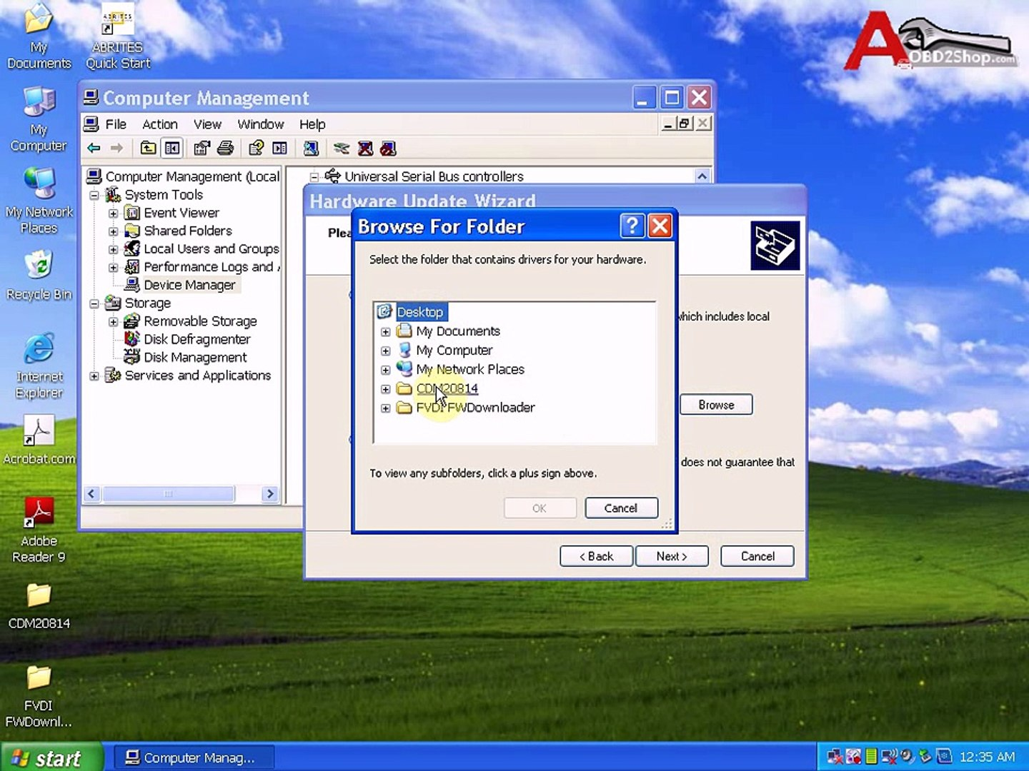 How to upgrade FVDI driver v2 10 to 2 8 14
