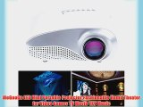 MeGooDo LED Mini Portable Projector Fashionable Home Theater for Video Games TV Movie TXT Music