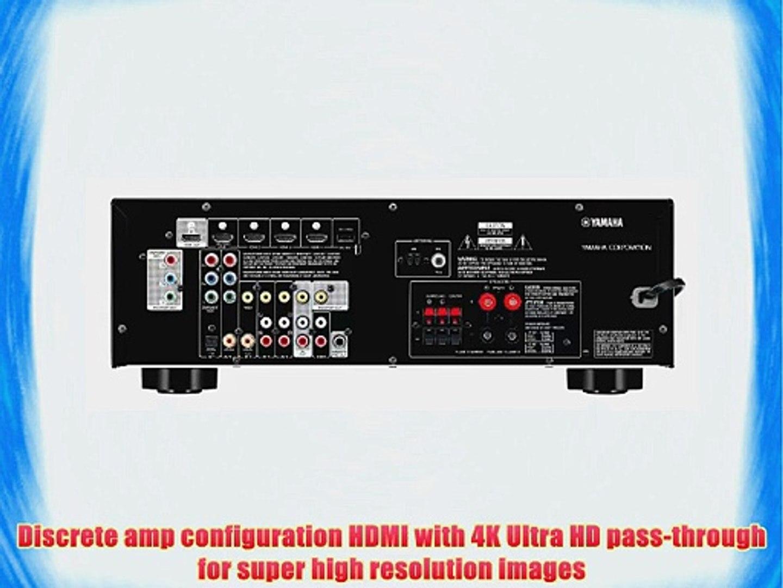 ghdonat.com Yamaha RX-V367BL 500-Watt 5.1 Channel AV Receiver ...