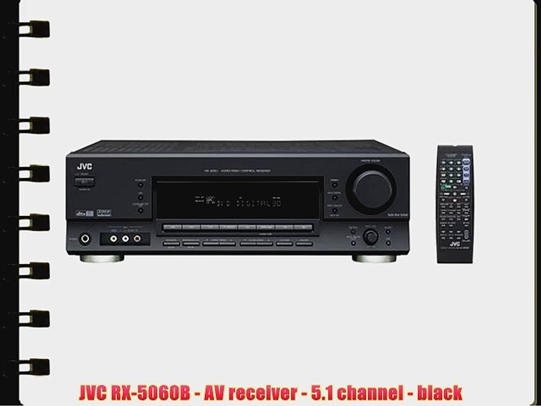 Jvc Rx 5060b Av Receiver 51 Channel Black
