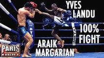 100%FIGHT ! YVES LANDU VS ARAIK MARGARIAN (Pancrace)
