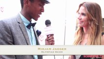 Olympiad Skier Mirjam Jaeger Interview on Skiing & Fashion at Pre ESPYS Trendsetters Suite