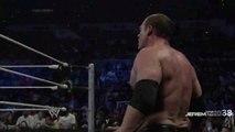 Randy Orton RKO on Jey Usos - Smackdown - April 11, 2014