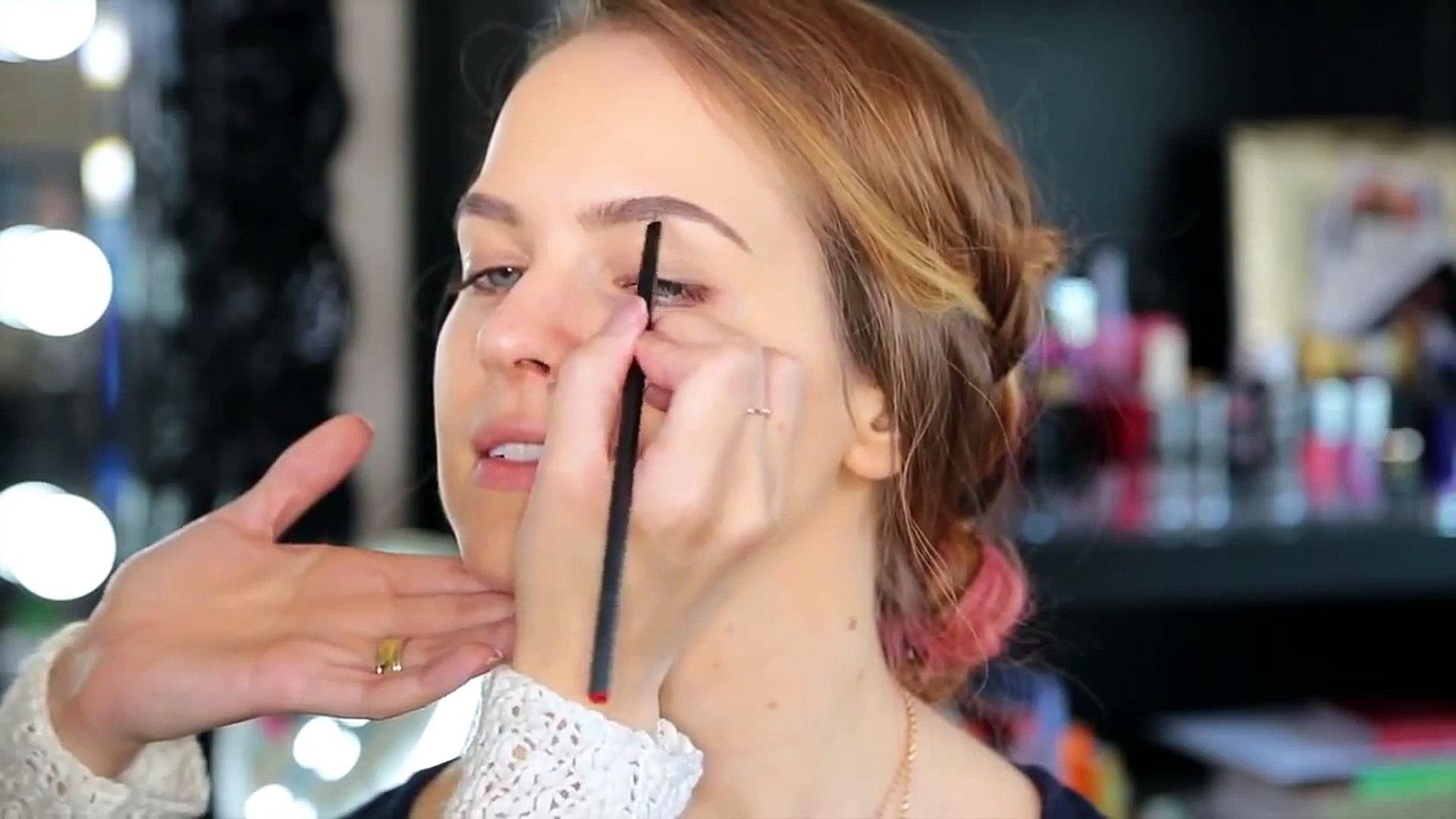 Glam Fall Makeup Tutorial and Hair!