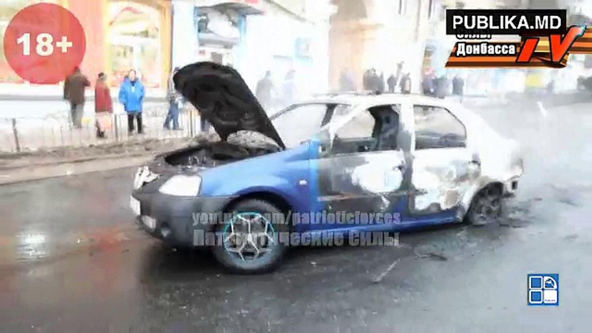 Tragedie la Doneţk. Un proiectil a nimerit într-o staţie de troleibuz aglomerată. Cel puţin nouă oam