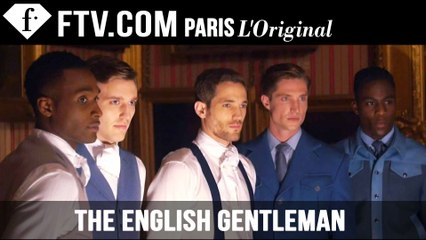 The English Gentleman by Woolmark | Menswear Fall/Winter 2015 | London Collections: Men | FashionTV