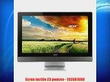 Acer Aspire Z3-615 Ordinateur de bureau Tout-en-un tactile 23 Noir (Intel Core i5 8 Go de RAM