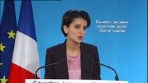 Education : Najat Vallaud-Belkacem détaille ses mesures en faveur de la laïcité